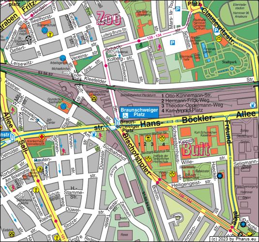 Braunschweiger Platz Hannover 30173 Hannover Bult