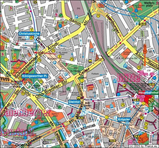Celler Straße Hannover, 30161 Hannover - Mitte